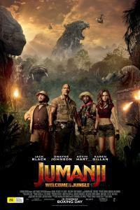 Jumanji: Welcome to the Jungle 3D